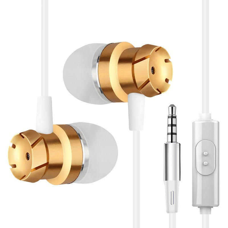 SOS 1 Noise Cancelling Earphones White & Gold