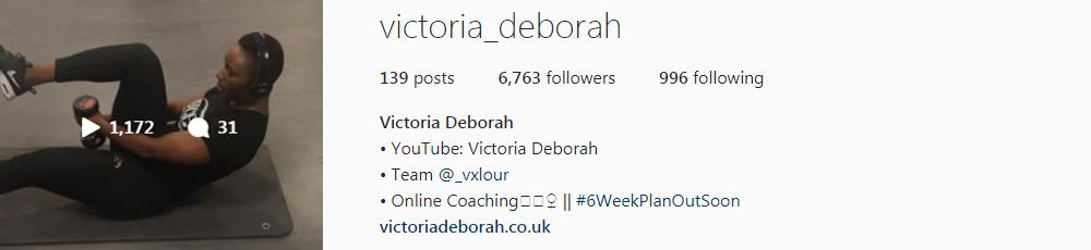 Victoria Deborah